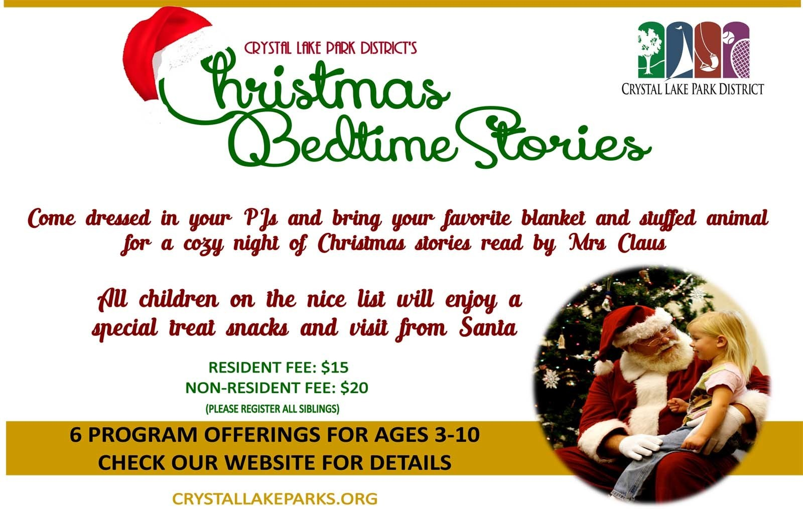 classic christmas bedtime stories for kids ages 3 10 a crystal lake park district holiday tradition barrington courier review - Christmas Bedtime Stories