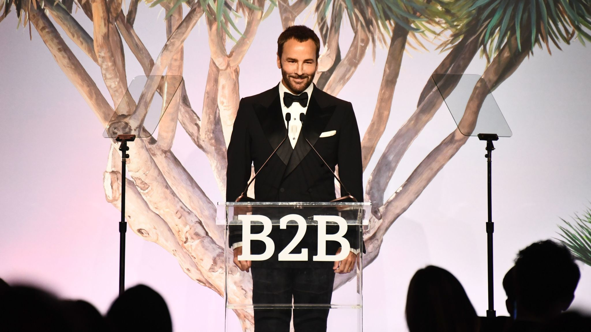 Tom Ford onstage during the Baby2Baby Gala.