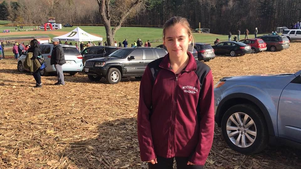 Makenzie Hopkins finishes third in 2A state meet