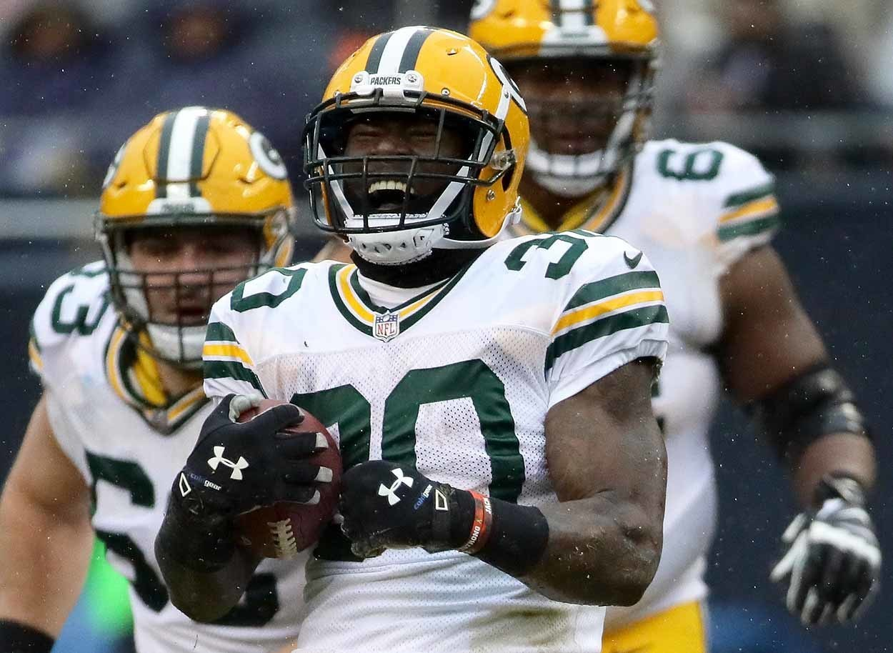 jamaal williams week 10 rookie review