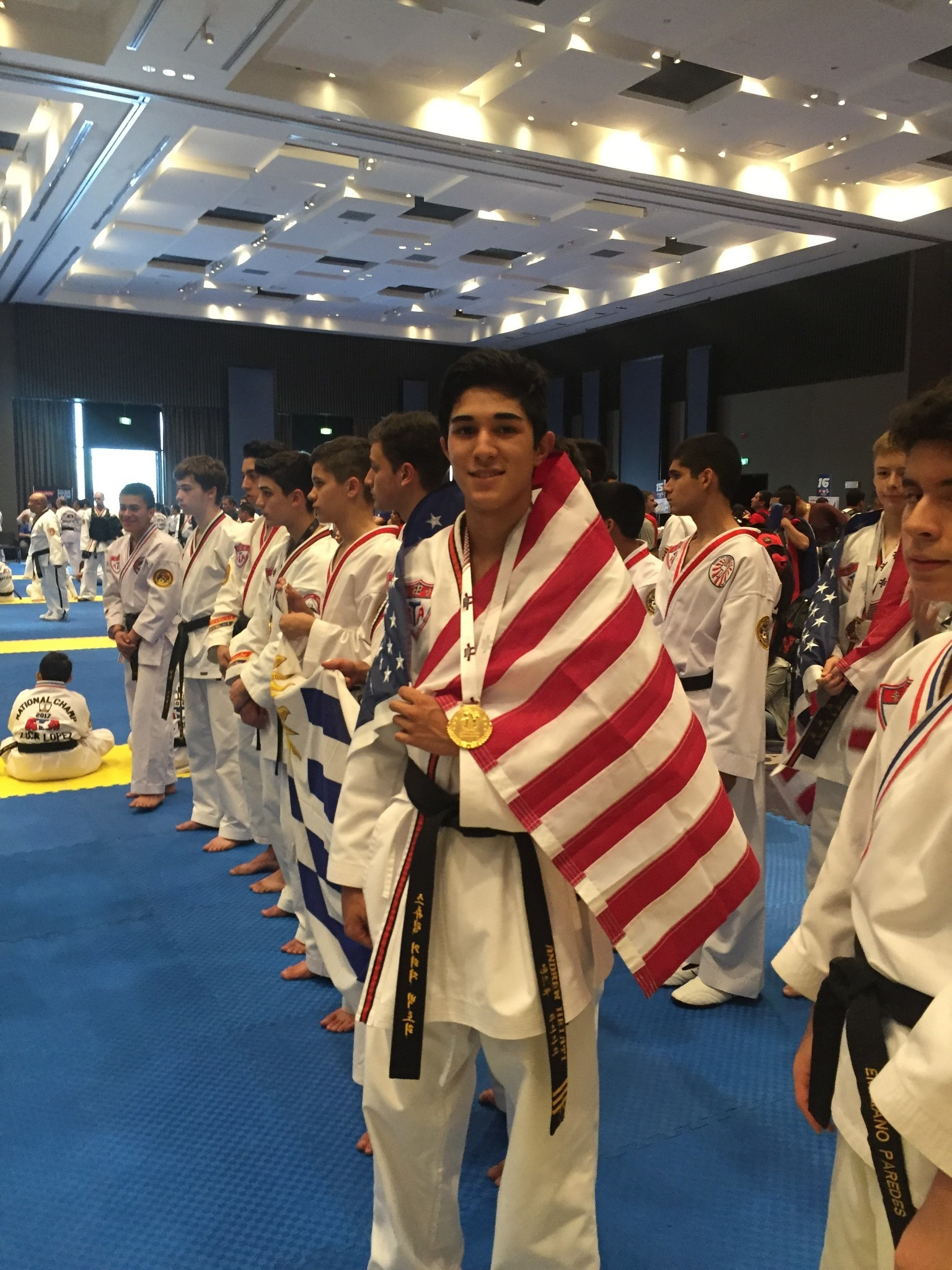 Andrew Heiati was proud to represent the U.S. at the PanAm Championships in Peru last October.