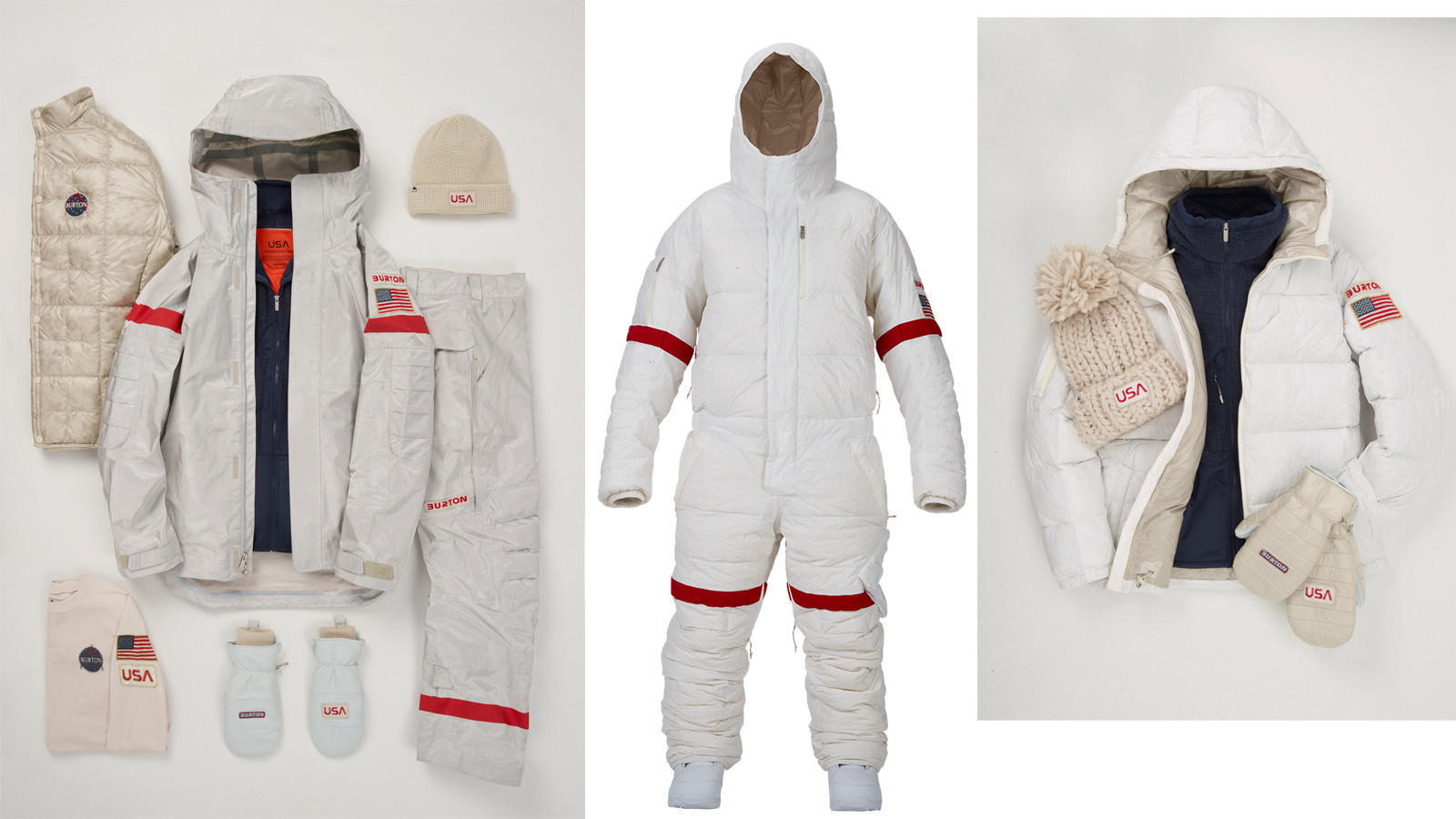 Burtonu2019s astronaut-inspired 2018 Olympic snowboarding uniforms make space the final fashion ...