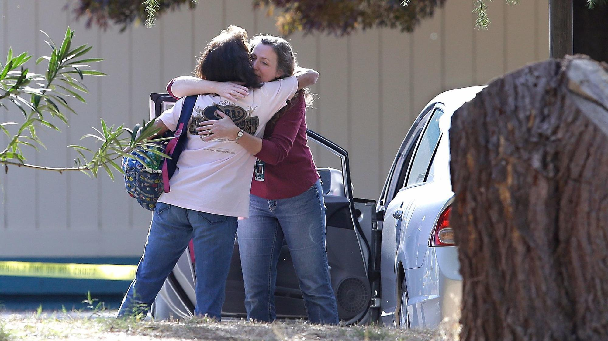 5 dead, including 3 at an elementary school, in shooting in Sacramento, CA