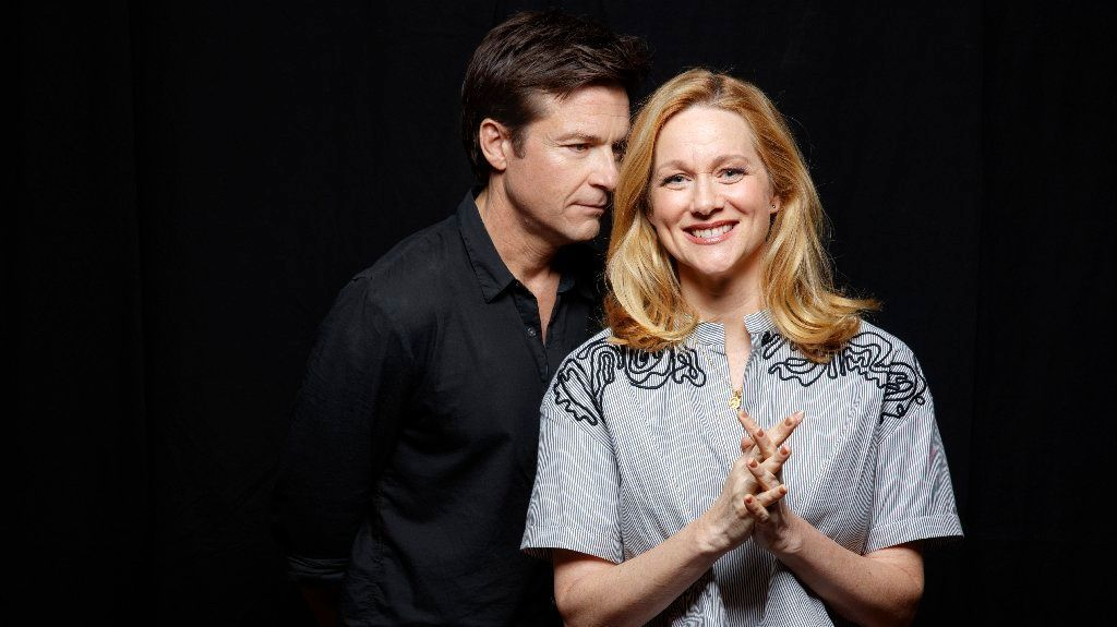 Jason Bateman and Laura Linney. (Jay L. Clendenin / Los Angeles Times)