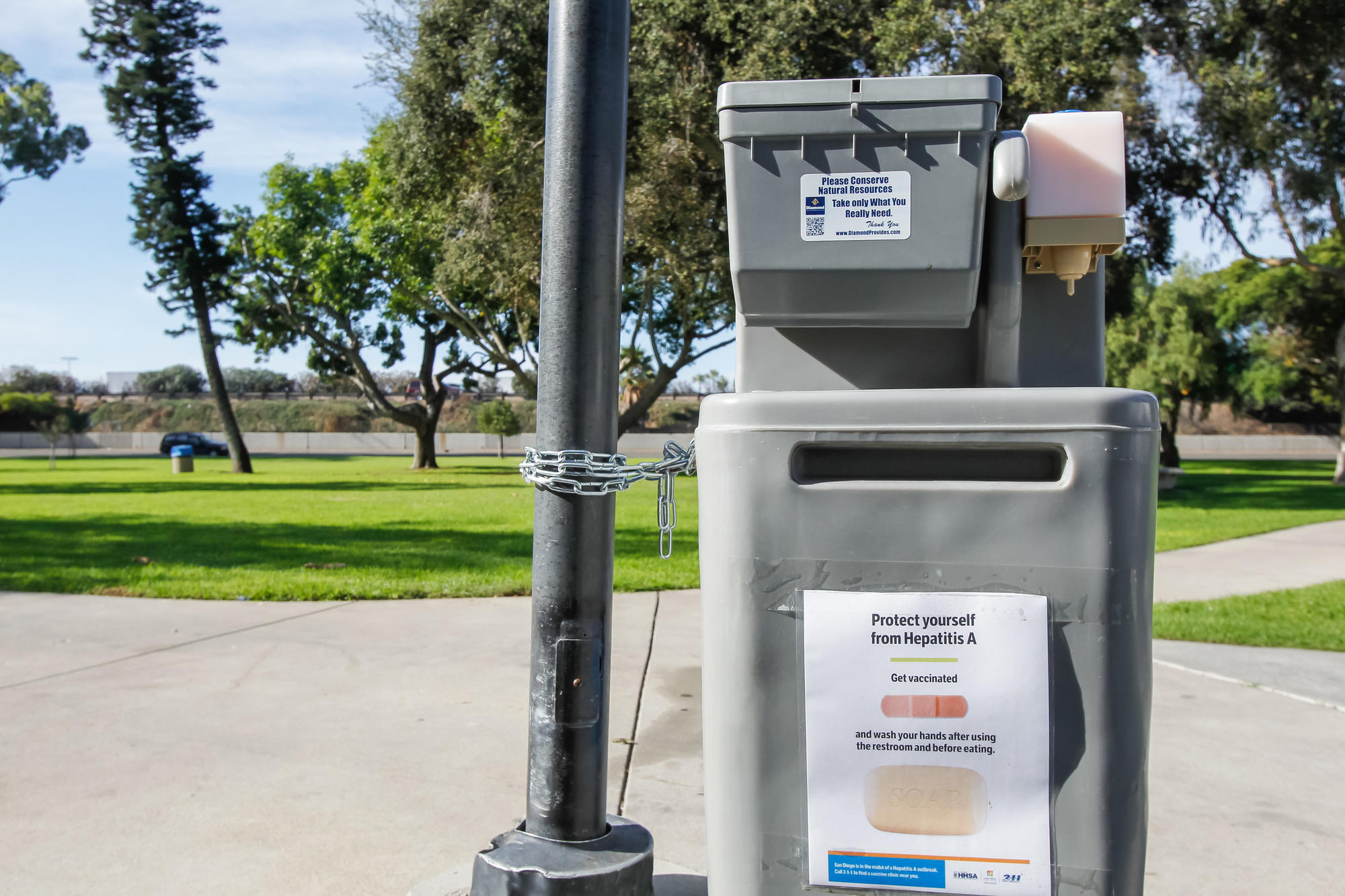 M And T Portable Toilets : Carlsbad to open parks overnight for hand washing