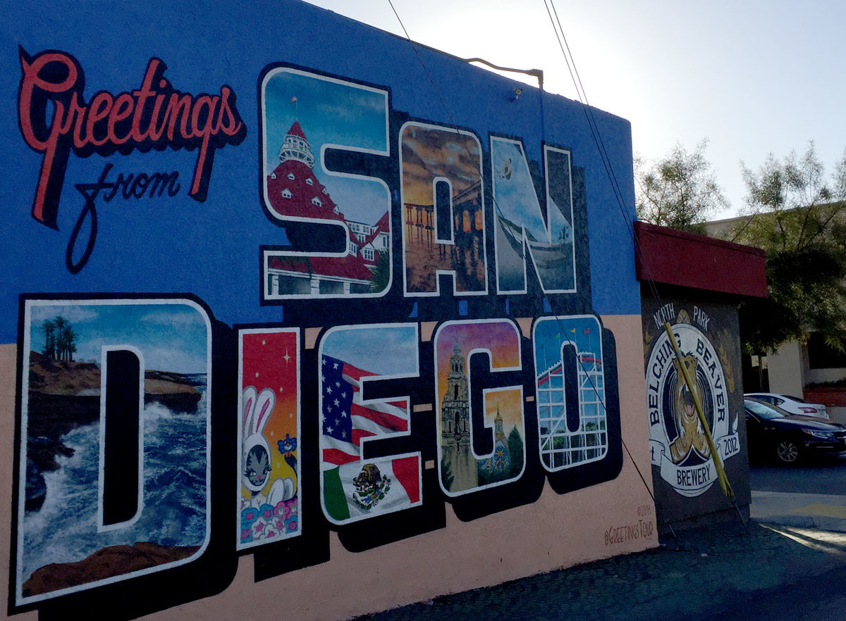 Street art Murals to explore in central San Diego area Pacific