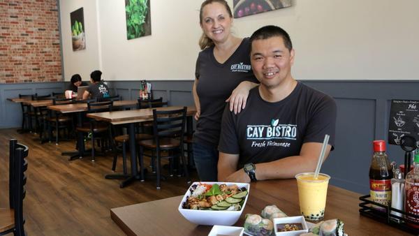 Couple aim to demystify Vietnamese food