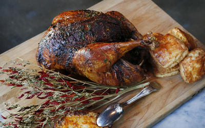 Ray Garcia's Thanksgiving turkey