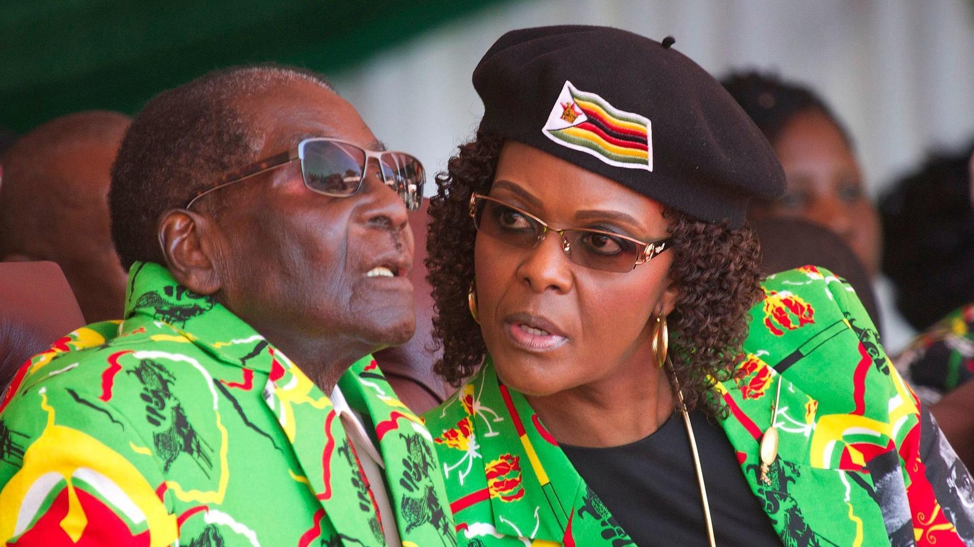 From Typist To First Lady Of Zimbabwe Presidental Contender Did Grace Mugabe S Political Ambitions Topple Her Husband La Times