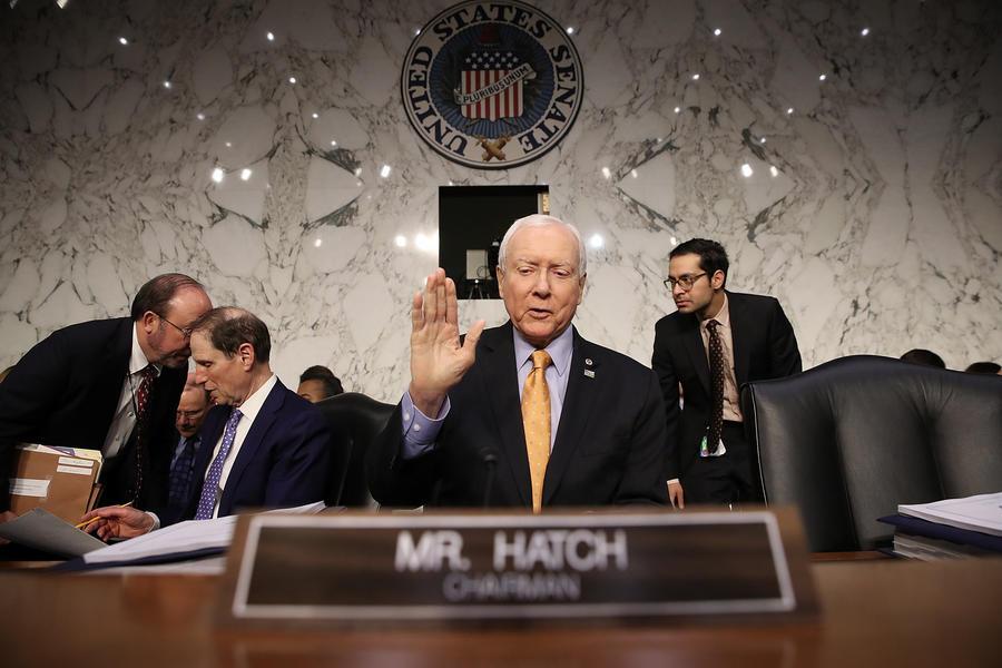 Senate Finance Committee Chairman Orrin Hatch (R-Utah) (Win McNamee)
