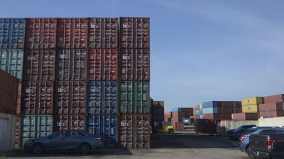 Meet the sculptor who works in a Baltimore shipping container depot