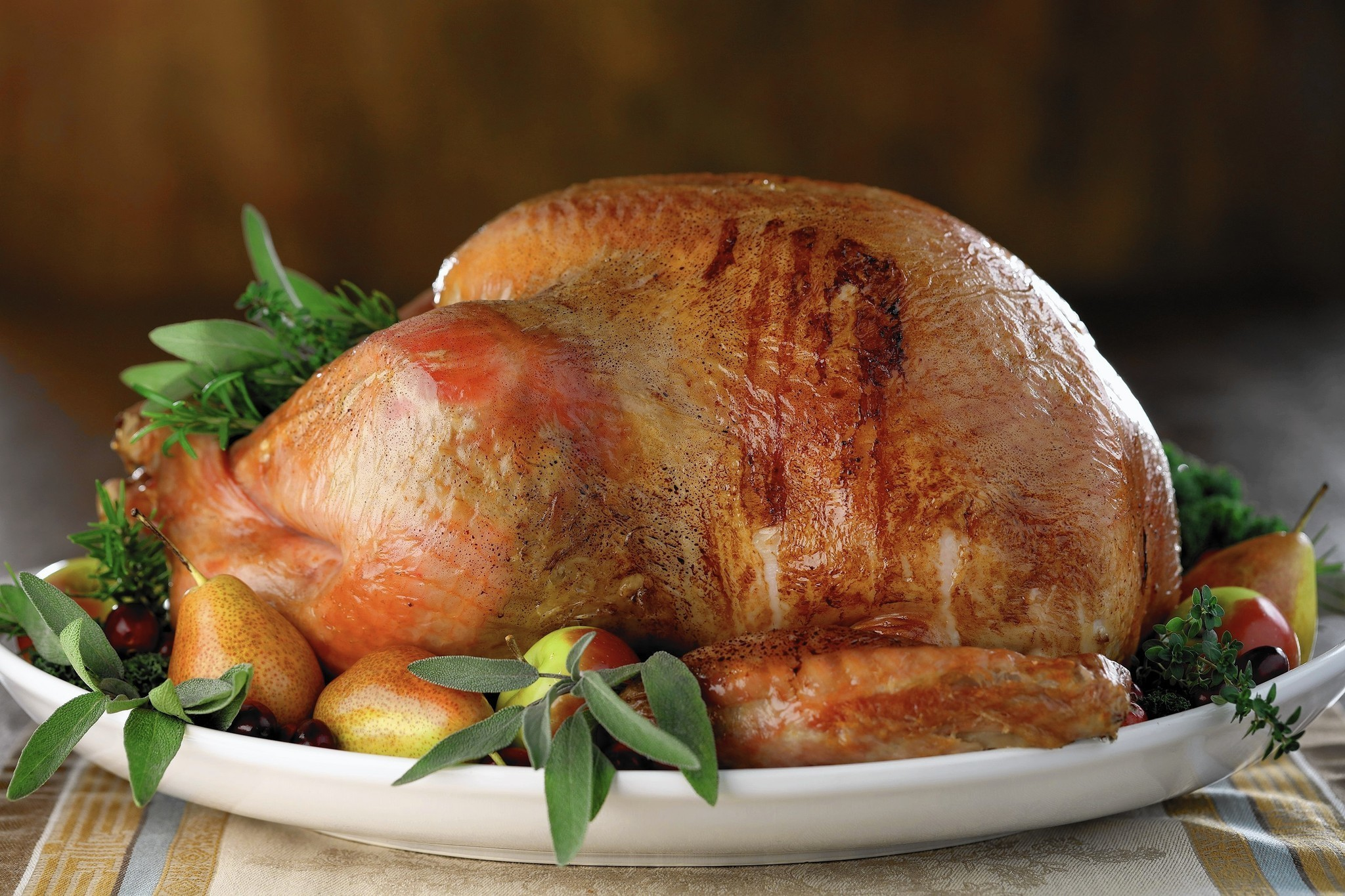 Herb-Scented Roast Turkey recommend