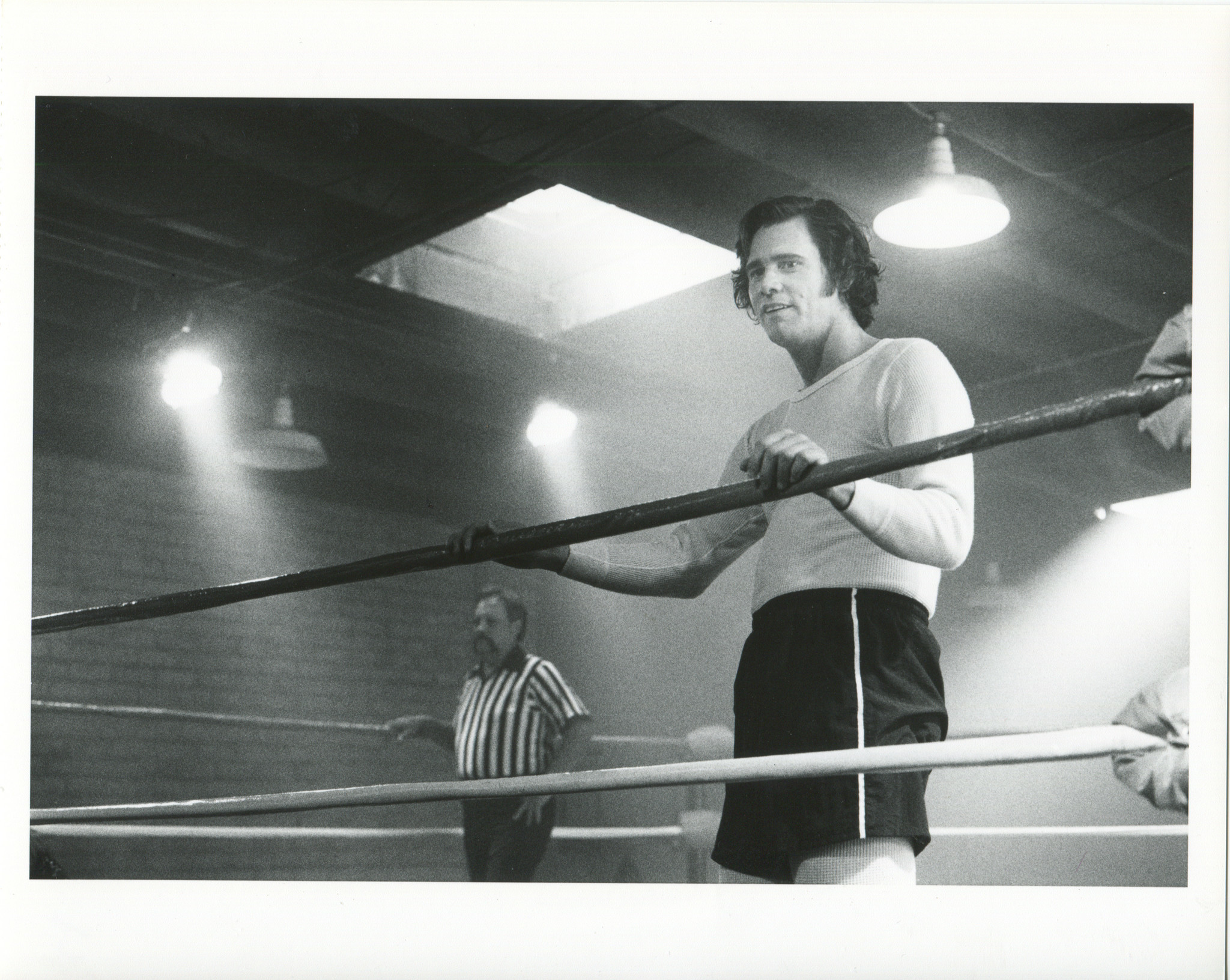 "A still photograph of Jim Carrey from ""Jim & Andy: The Great Beyond - Featuring a Very Special, Cont"