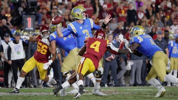 Josh Rosen shines, but the Bruins fall to Sam Darnold and the Trojans