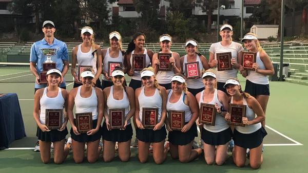 CdM girls' tennis wins CIF USTA SoCal Regional title to end undefeated season