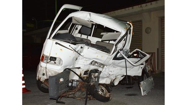 Truck driven by U.S. Marine in Okinawa hits another truck, killing Japanese driver, 61