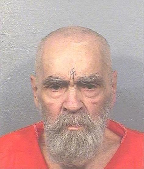 The most recent image of Manson, taken in August, 2017