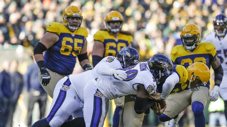 NFL Week 11: Ravens vs. Packers