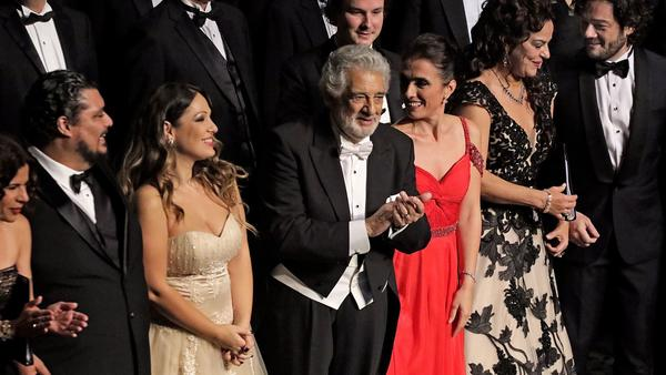 Gala celebrates Plácido Domingo's 50 years on the L.A. stage