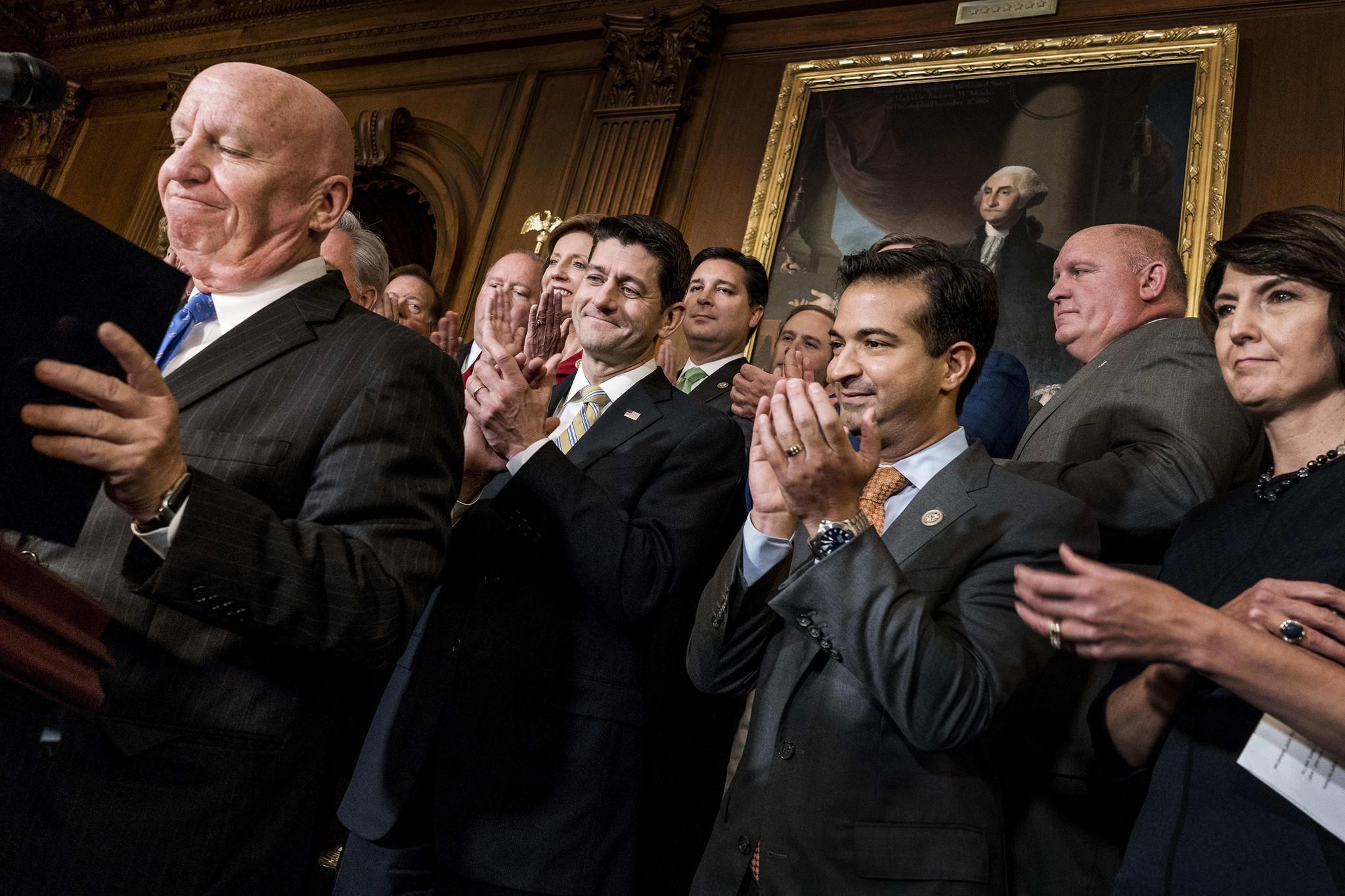 Tax bill reflects rift between many Republicans, higher ...