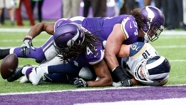 Rams receiver Cooper Kupp has rough outing in loss to Vikings