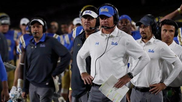 Happy ... trails: UCLA fires football coach Jim Mora on his birthday