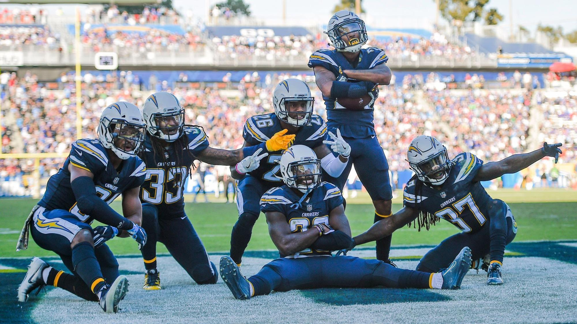 Disrespected Chargers D Has Pick Party At Peterman S