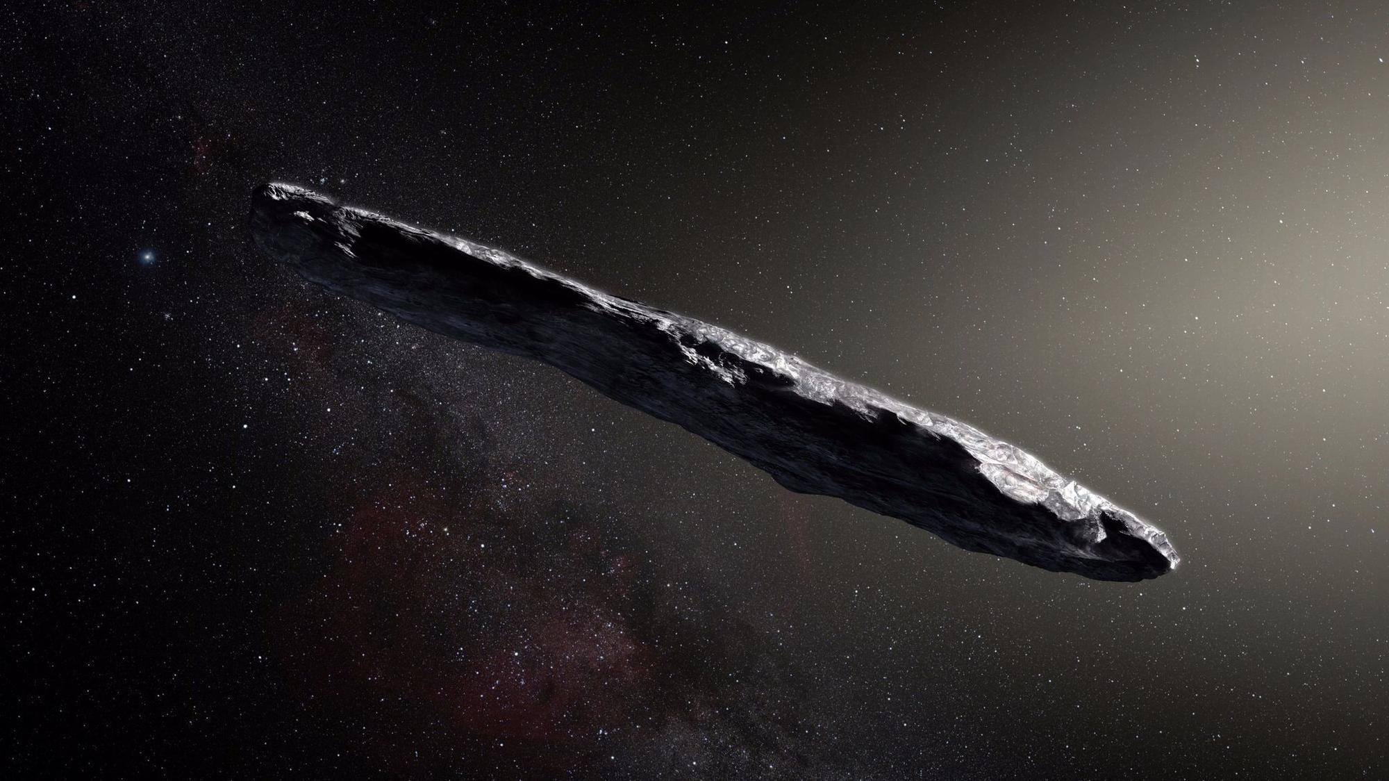 Risultati immagini per Oumuamua'