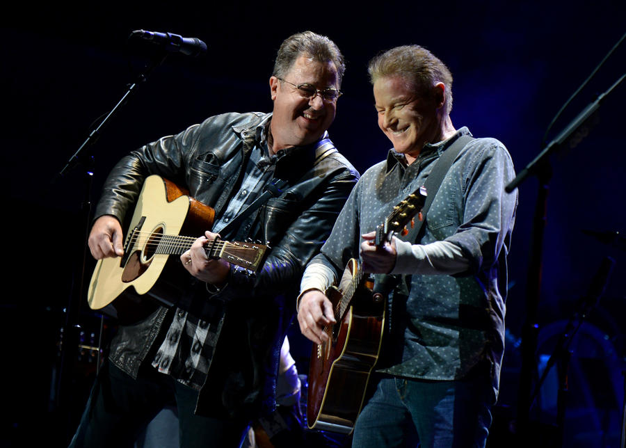 Eagles Tour  With Vince Gill
