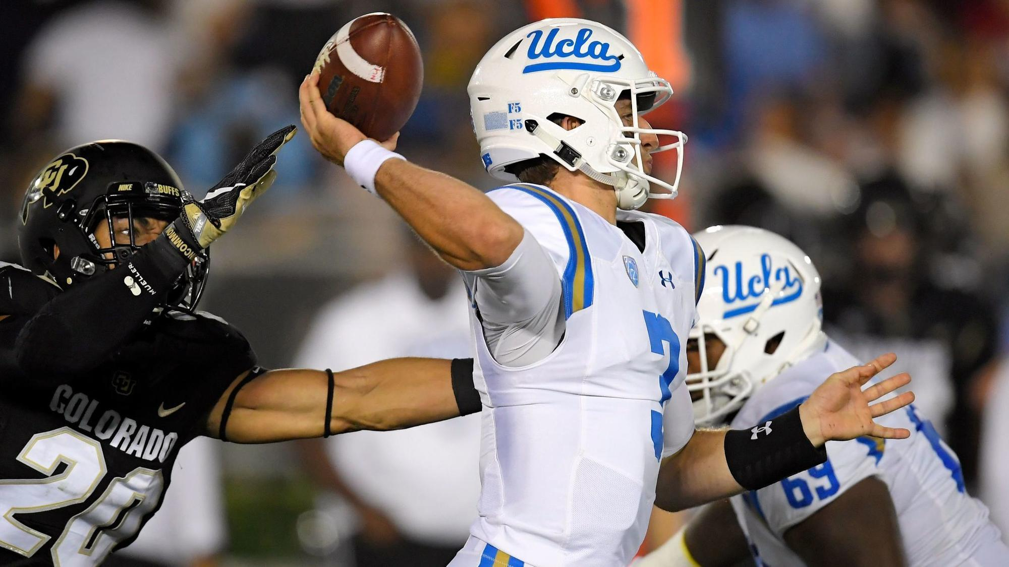 If Browns Target Ucla S Rosen Should He Take The Elway