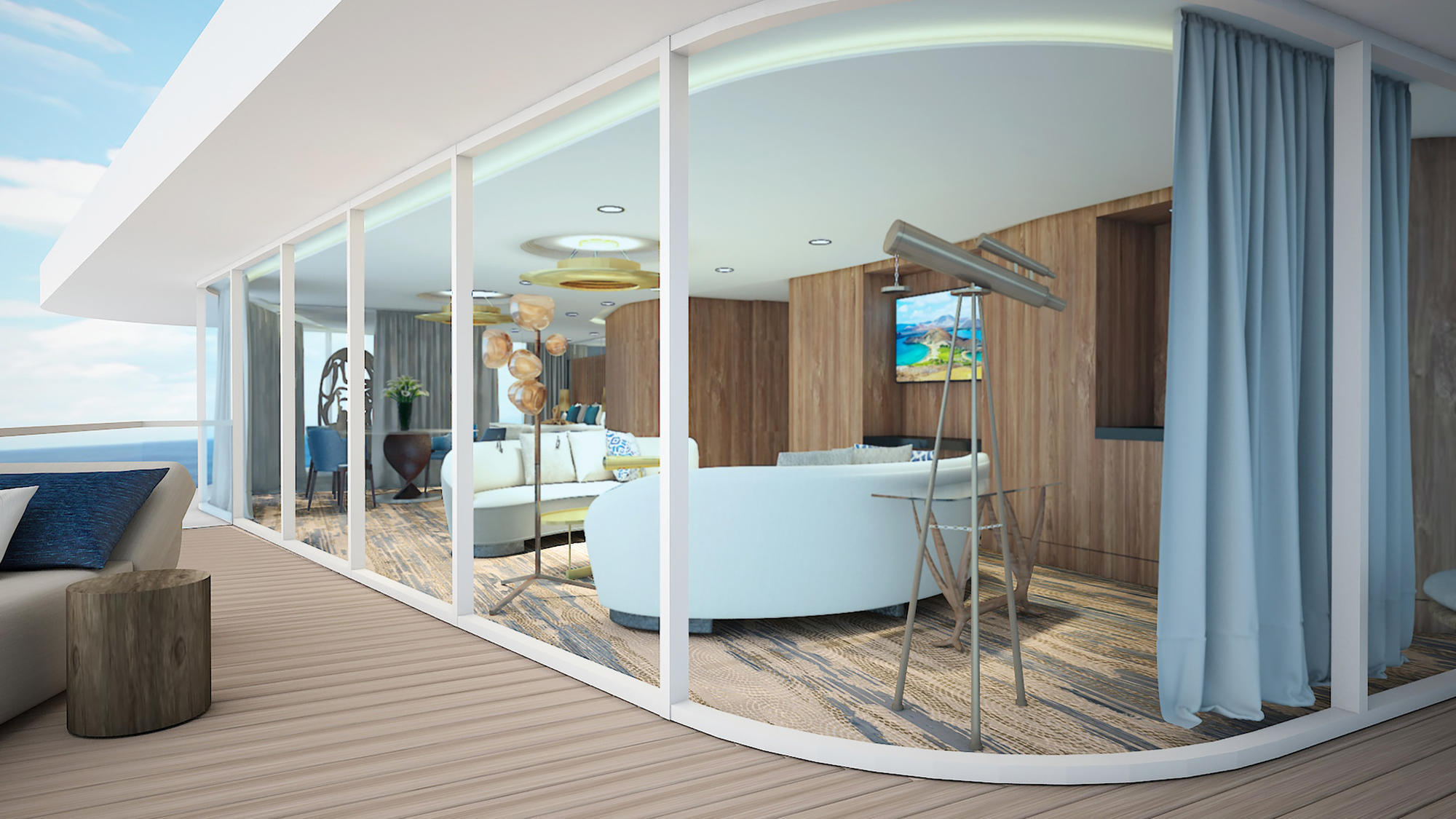 Celebrity Cruises New 100 Passenger Ship Tailor Made To