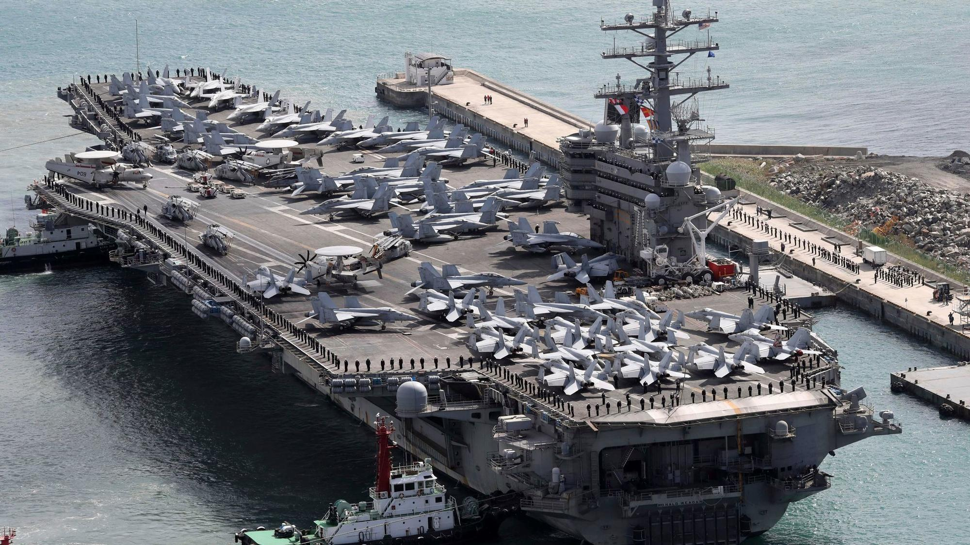 U.S. Navy aircraft carrying 11 crashes into the Pacific Ocean