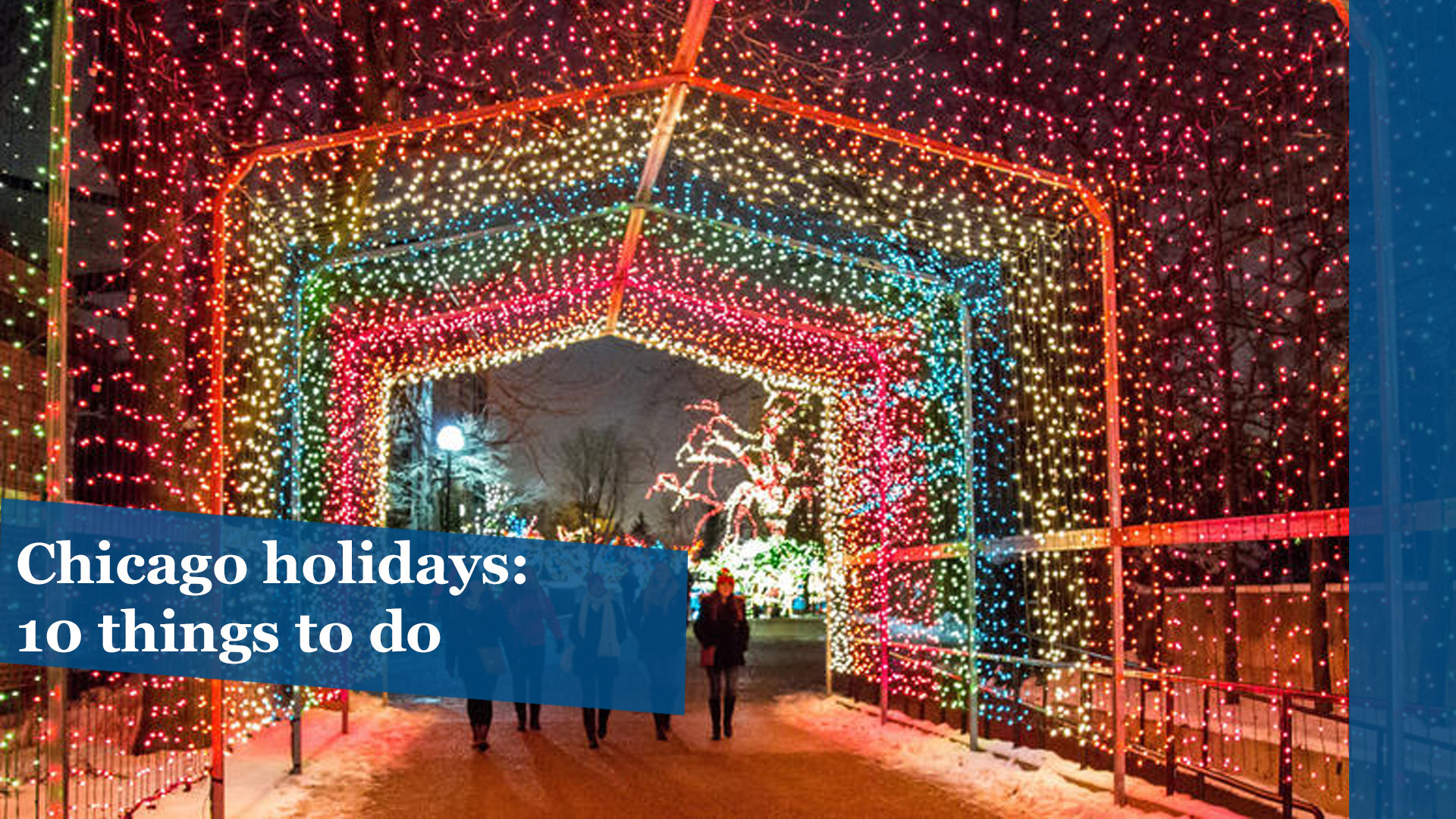 10 things to do in chicago for the holidays chicago tribune