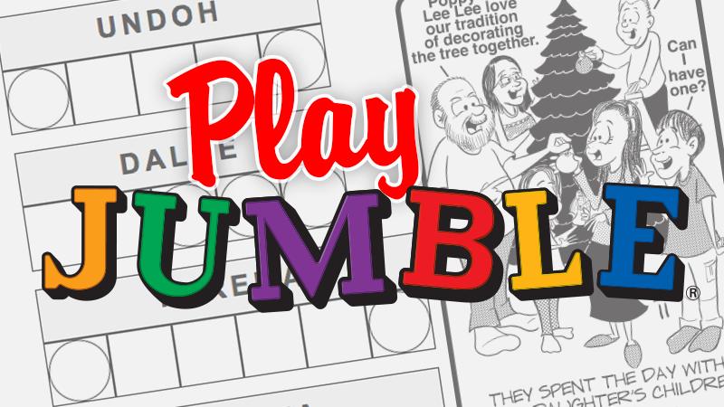 Jumble Daily Puzzles Chicago Tribune