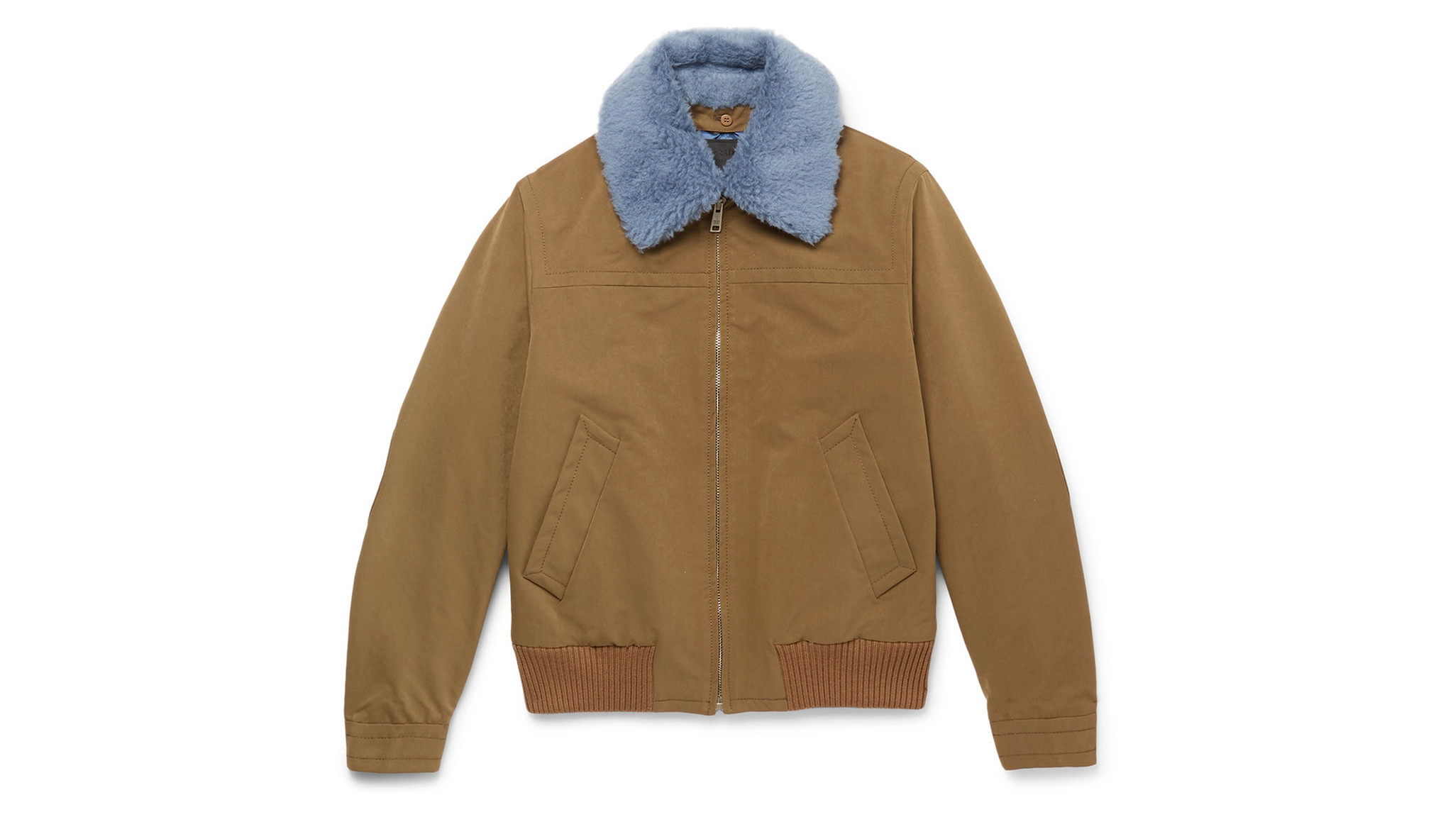 Prada Bomber with shearling collar