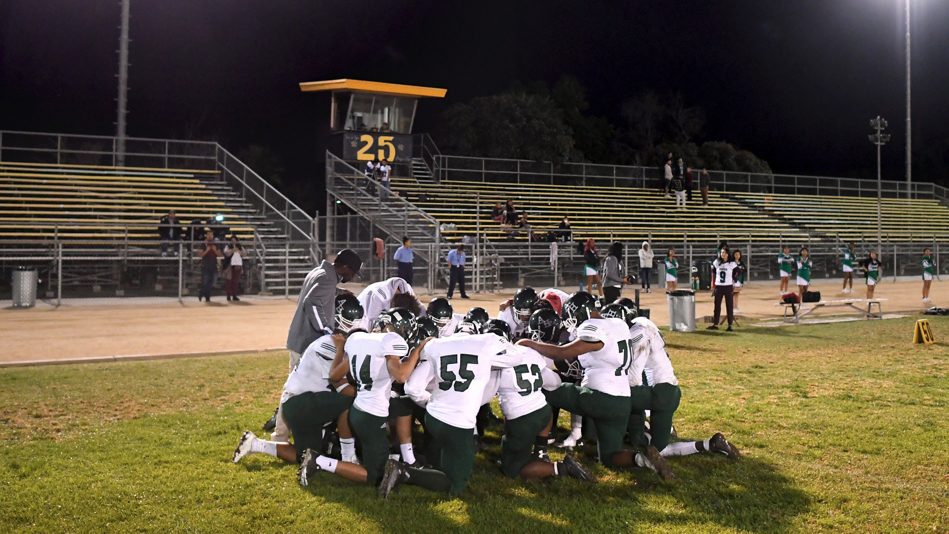 Band of brothers: 0-12 Hawkins High football team refuses to quit