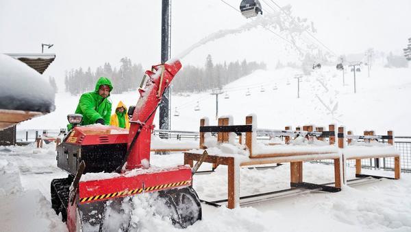 California's ski season starts with good snowfall and higher lift prices