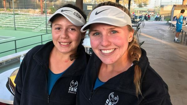 Five from CdM advance in CIF Individuals girls' tennis tournament