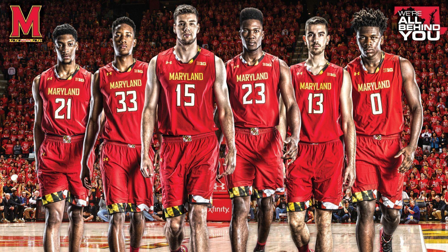 the international flavor of the maryland men's basketball team is