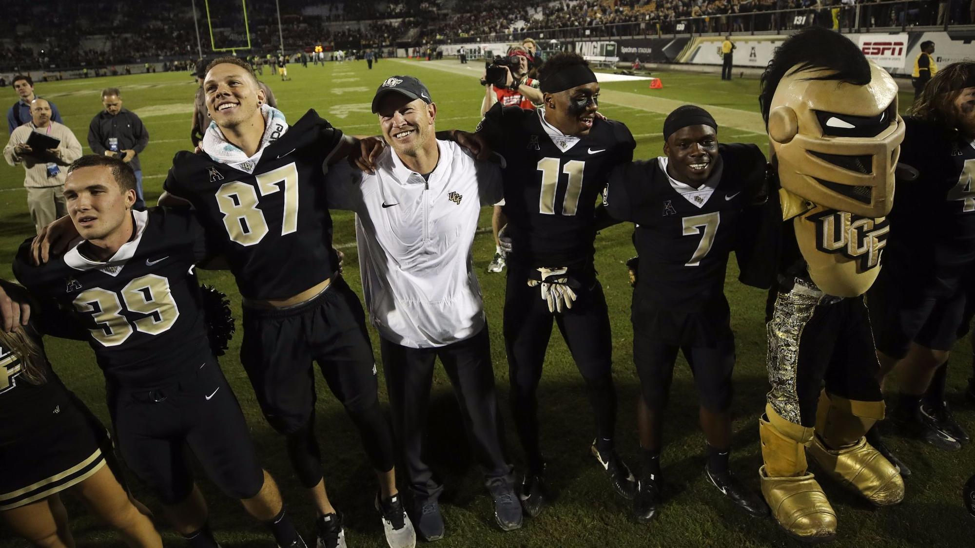 Scott Frost Usf >> UCF tries to hold onto Scott Frost as Nebraska job opens, Chip Kelly spurns UF - Baltimore Sun
