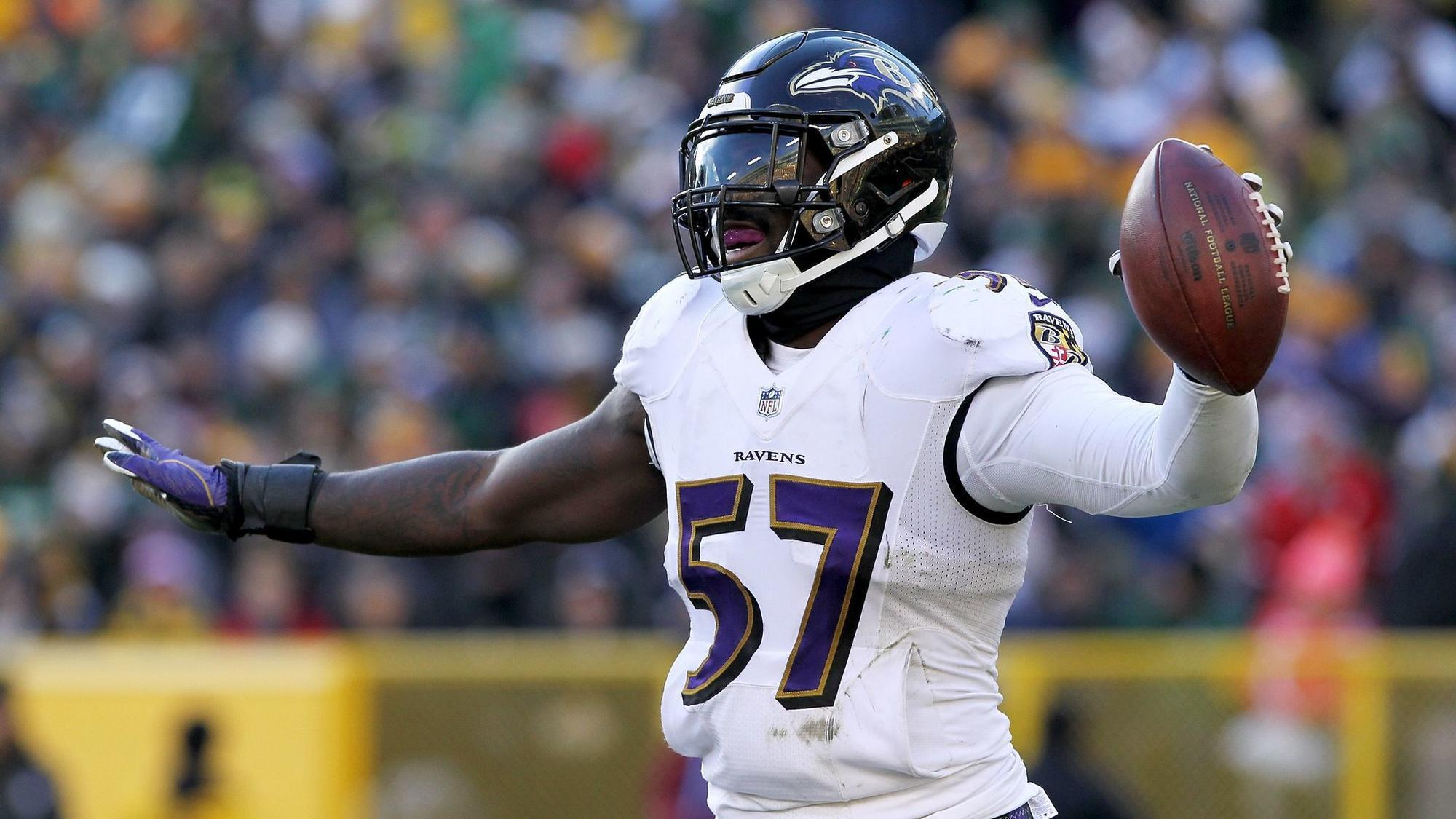 Ravens C J Mosley not worried about sprained ankle vows to