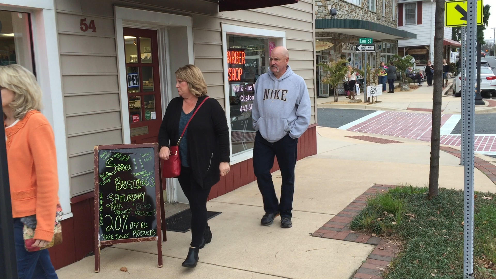 Consumers shop small on Saturday after Thanksgiving