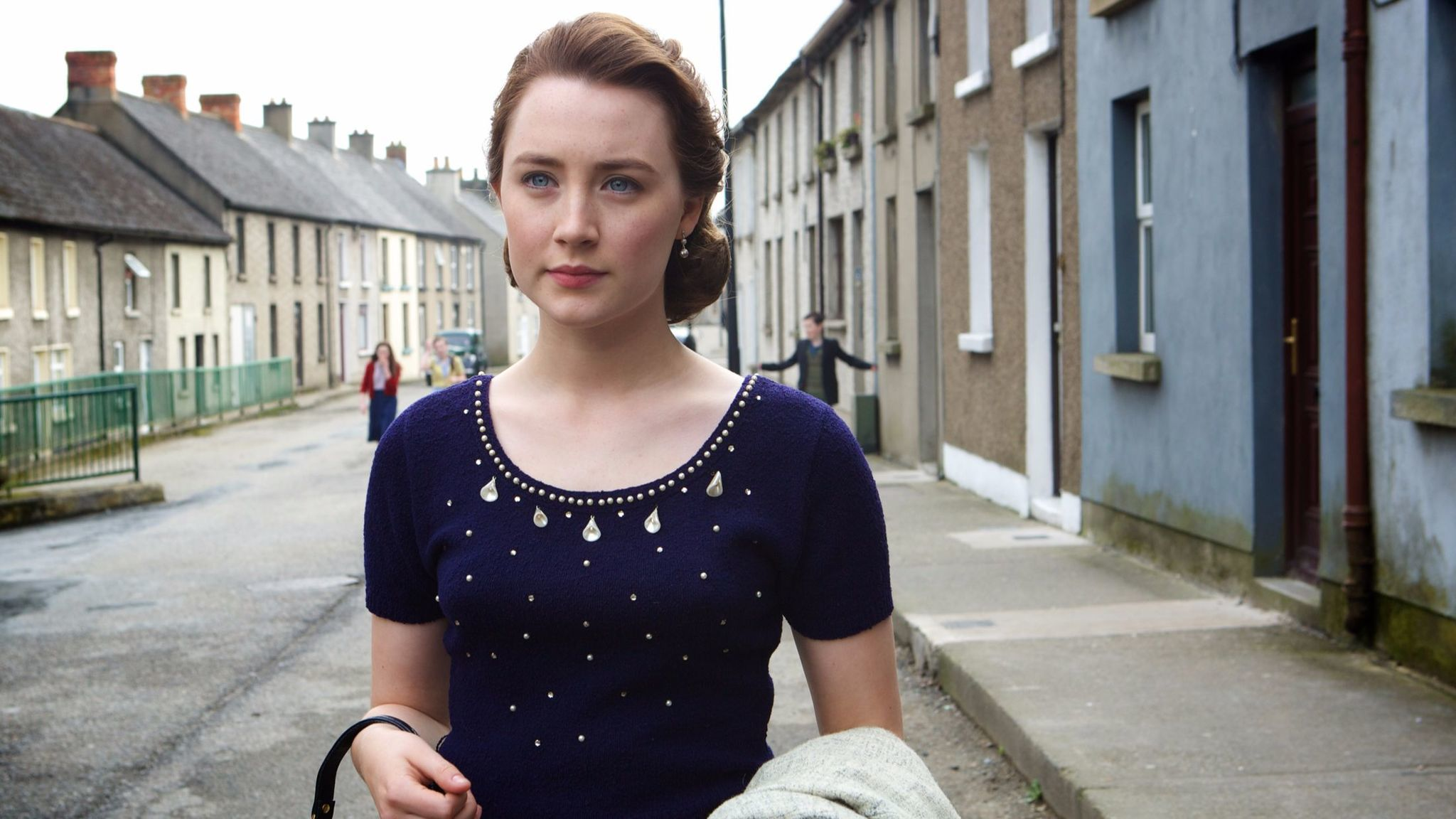 "Ronan as young Irish emigrant Eilis in ""Brooklyn."""