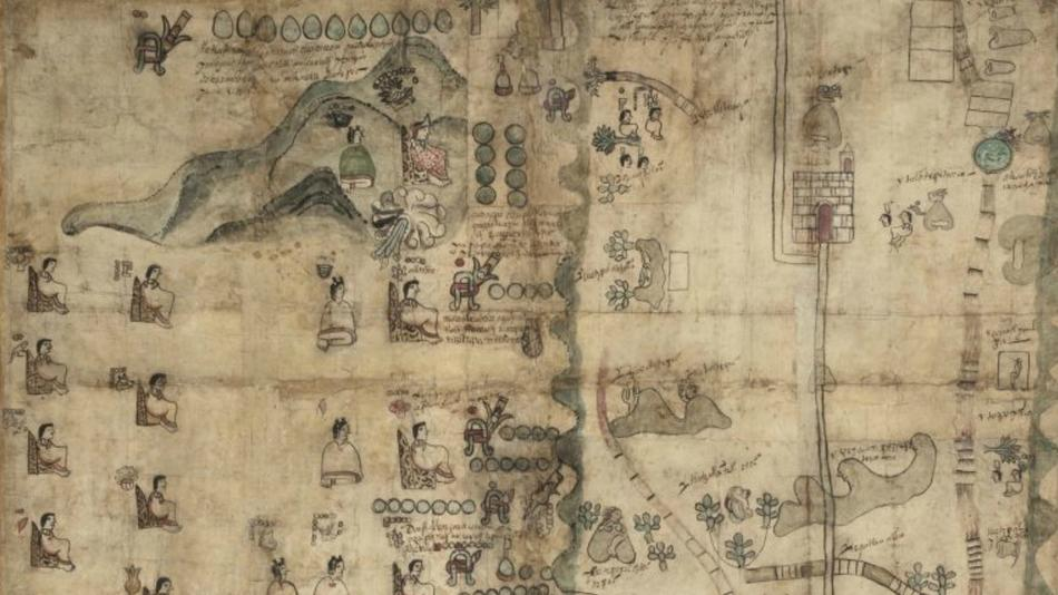 Rare 16th-Century Mesoamerican Codex Goes Online At The Library Of Congress by Michael Schaub for LA Times