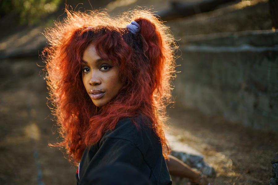 Sza is seen in Los Angeles on Sept. 26, 2017. (Marcus Yam / Los Angeles Times)