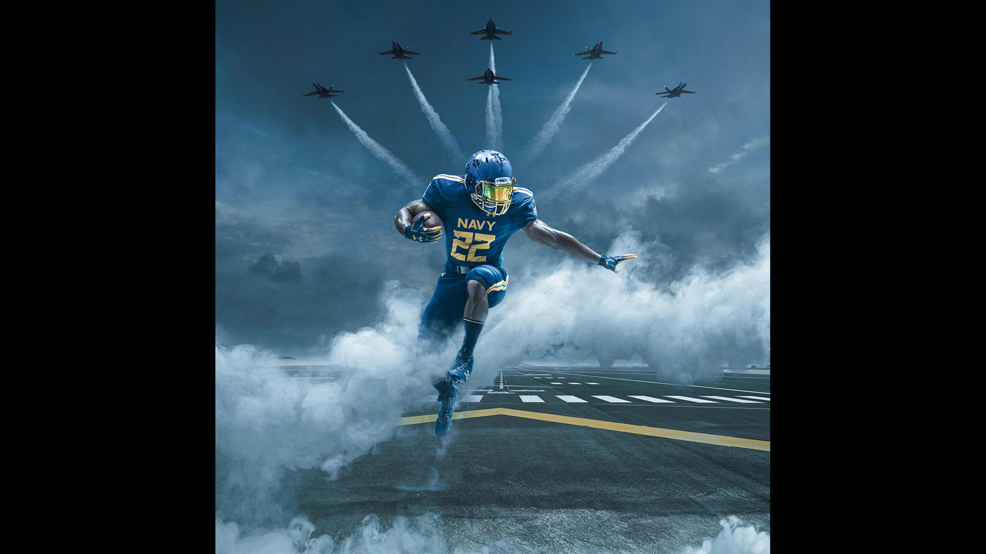 midshipmen to wear blue angels-inspired uniforms in army-navy game