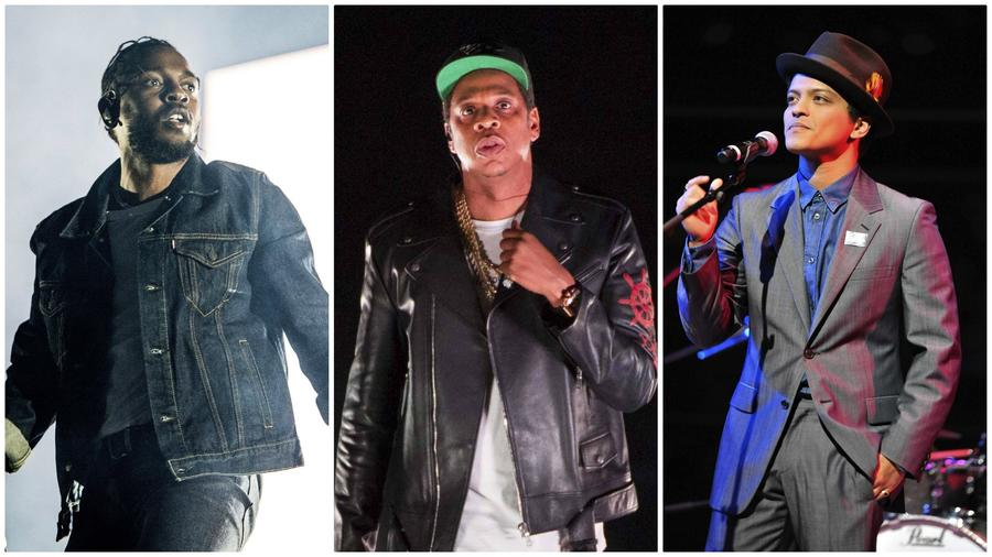 Jay-Z and Kendrick Lamar lead Grammy nominations