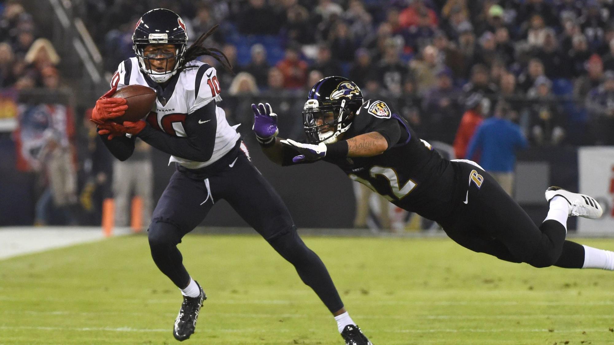 Ravens defense impressed by Texans wide receiver DeAndre Hopkins