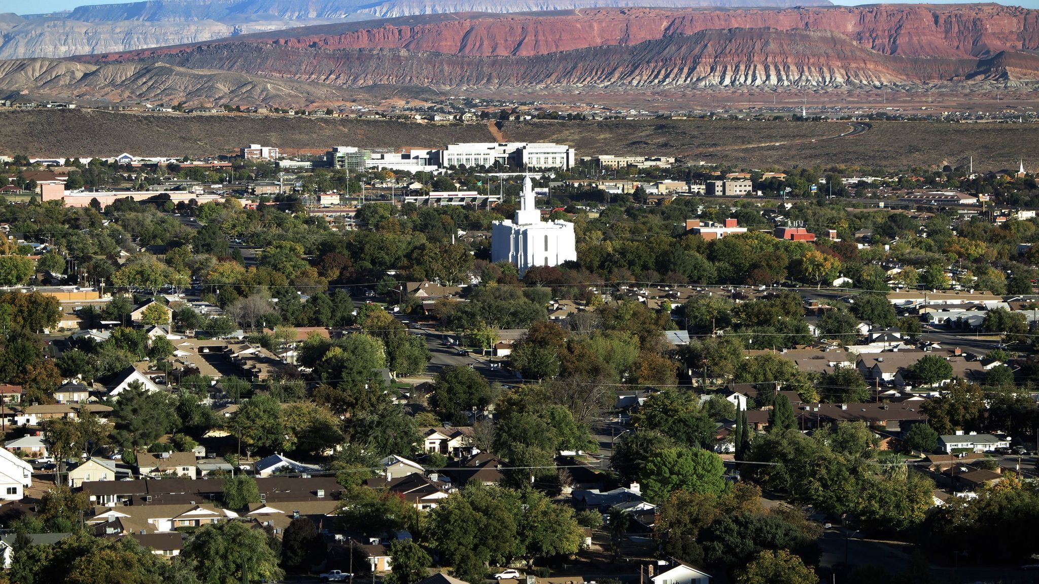 St. George, Utah, is the largest city and county seat of Washington County, one of the country's fastest-growing metropolitan regions