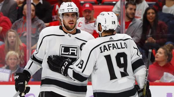 Kings Pull Away Late To Beat The Red Wings